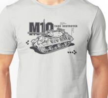M10 Tank Destroyer Unisex T-Shirt