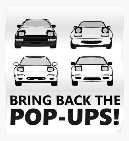 Bring back the pop-ups! Poster