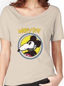 Dismaland Mickey Rat Women's Relaxed Fit T-Shirt