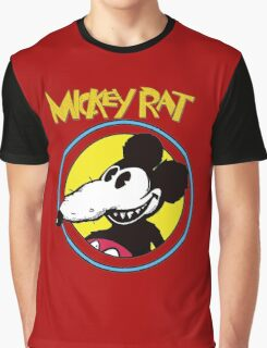 Dismaland Mickey Rat Graphic T-Shirt