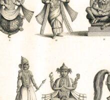 The 10 Avatars or Incarnations of Vishnu Sticker