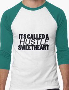 Its Called A Husstle Men's Baseball ¾ T-Shirt