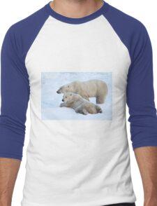 Polar Bear Mates Men's Baseball ¾ T-Shirt