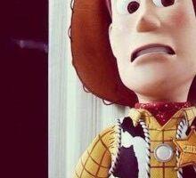 Ghostface Woody Sticker