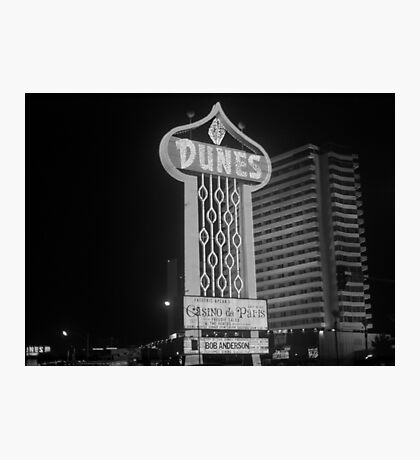 Las Vegas 1980 Photographic Print