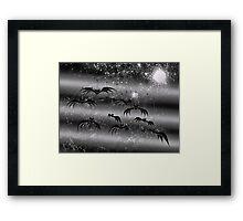 The Bat Mobile Framed Print