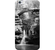 Stone Bridge over the Falls iPhone Case/Skin
