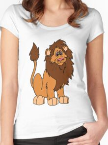 Leroy the Lion Women's Fitted Scoop T-Shirt