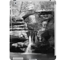 Stone Bridge over the Falls iPad Case/Skin