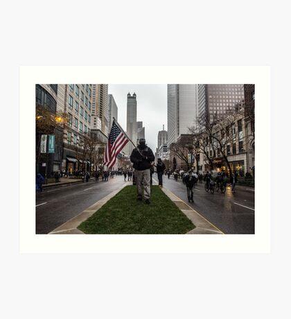 American Man Art Print