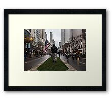 American Man Framed Print