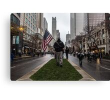 American Man Canvas Print