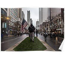 American Man Poster