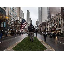American Man Photographic Print