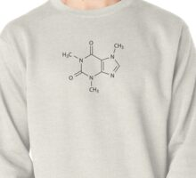 Caffeine Chemical Structure (C8H10N4O2) Pullover
