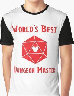 World's Best Dungeon Master Graphic T-Shirt