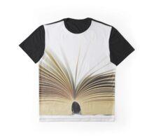 Open Book Graphic T-Shirt