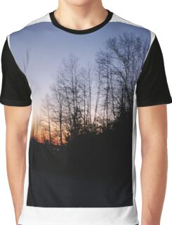 Sunset in the Trees Graphic T-Shirt