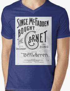 Since McFadden Bought the Cornet Mens V-Neck T-Shirt