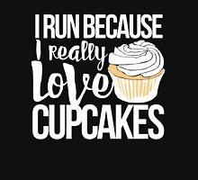 I run because I love cupcakes Women's Tank Top