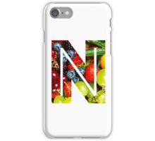 The Letter N - Fruit iPhone Case/Skin