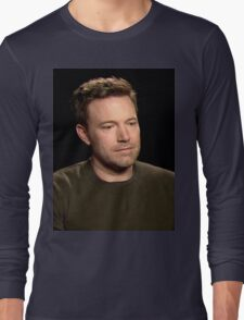 Sad Affleck Long Sleeve T-Shirt