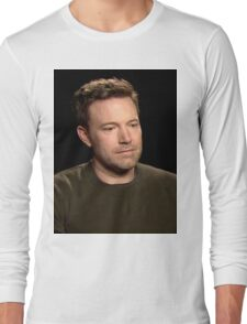 Sad Affleck Long Sleeve T-Shirt