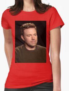Sad Affleck Womens Fitted T-Shirt