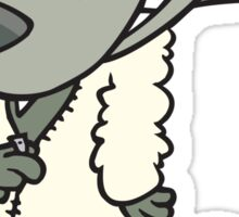 Wolf in Sheep's Clothing Sticker