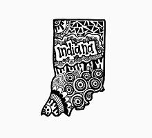 Indiana State Zentangle Unisex T-Shirt
