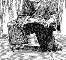 Samurai Training Sticker