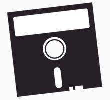 3 INCH Floppy Disk DRIVE Old skool geekery One Piece - Short Sleeve