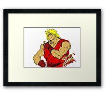 Streetfighter 2 Ken Framed Print
