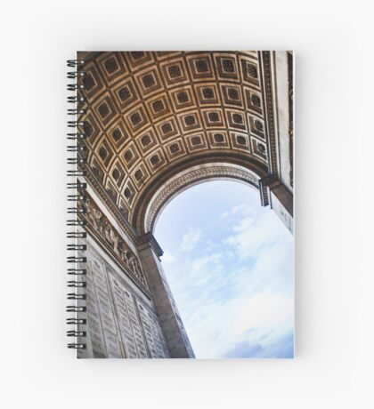 Arch of Triumph Spiral Notebook