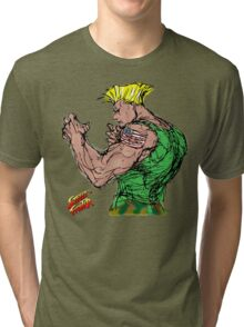 Streetfighter 2 Guile Tri-blend T-Shirt