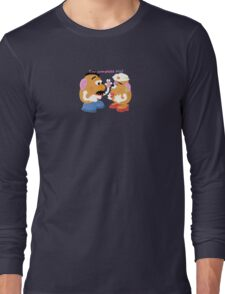 Mr and Mrs Potato Head- You Complete Me? Long Sleeve T-Shirt