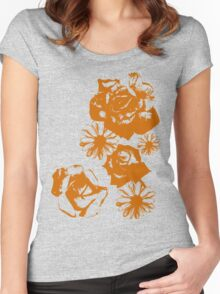 Roses and a Daisy Women's Fitted Scoop T-Shirt