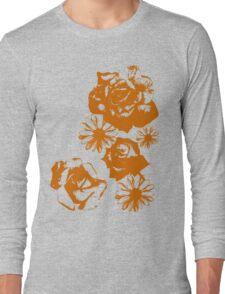 Roses and a Daisy Long Sleeve T-Shirt