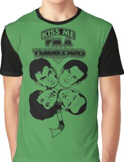 Kiss Me, I'm a Timelord Graphic T-Shirt