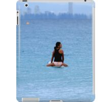Waiting For A Wave iPad Case/Skin
