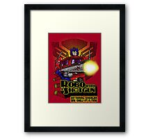 Robo With A Shotgun Framed Print
