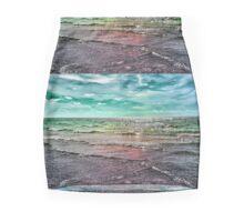 .Rainbow Waters Mini Skirt