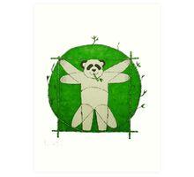 Da Vinci Panda Art Print