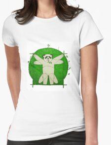 Da Vinci Panda Womens Fitted T-Shirt