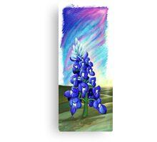 """""""The Last Bluebonnet""""  Canvas Print"""
