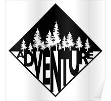 Adventure Trees Badge Poster