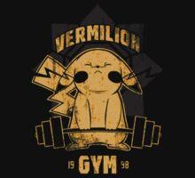 Vermilion Gym One Piece - Short Sleeve