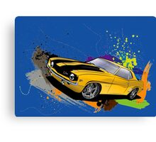 CLASSIC MUSTANG Canvas Print