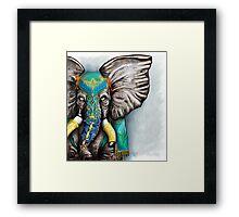 """""""Elegant Elephant"""" Framed Print"""