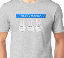 Happy Easter Three Sweet Bunnies Unisex T-Shirt
